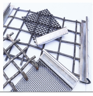 Stainless Steel Crimped Wire Mesh Barbecue Grill / Mine Screen 1-10mm Wire Gauge
